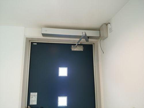 玄関を自動ドアに