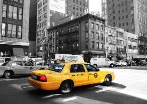 タクシー自動ドア3種類