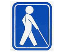 盲人のためのシンボルマーク