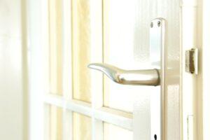 開き戸を自動ドアにする選択